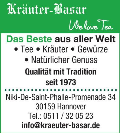 Kräuter-Basar We love Tea