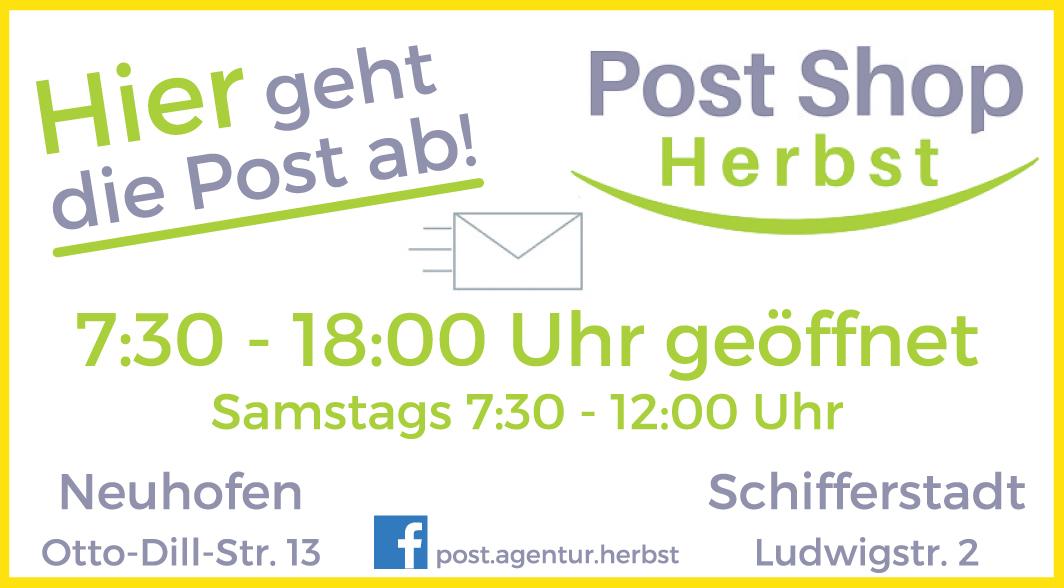 Post Shop Herbst