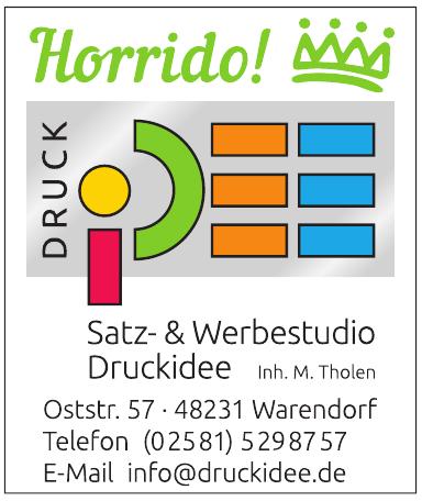Satz- & Werbestudio Druckidee
