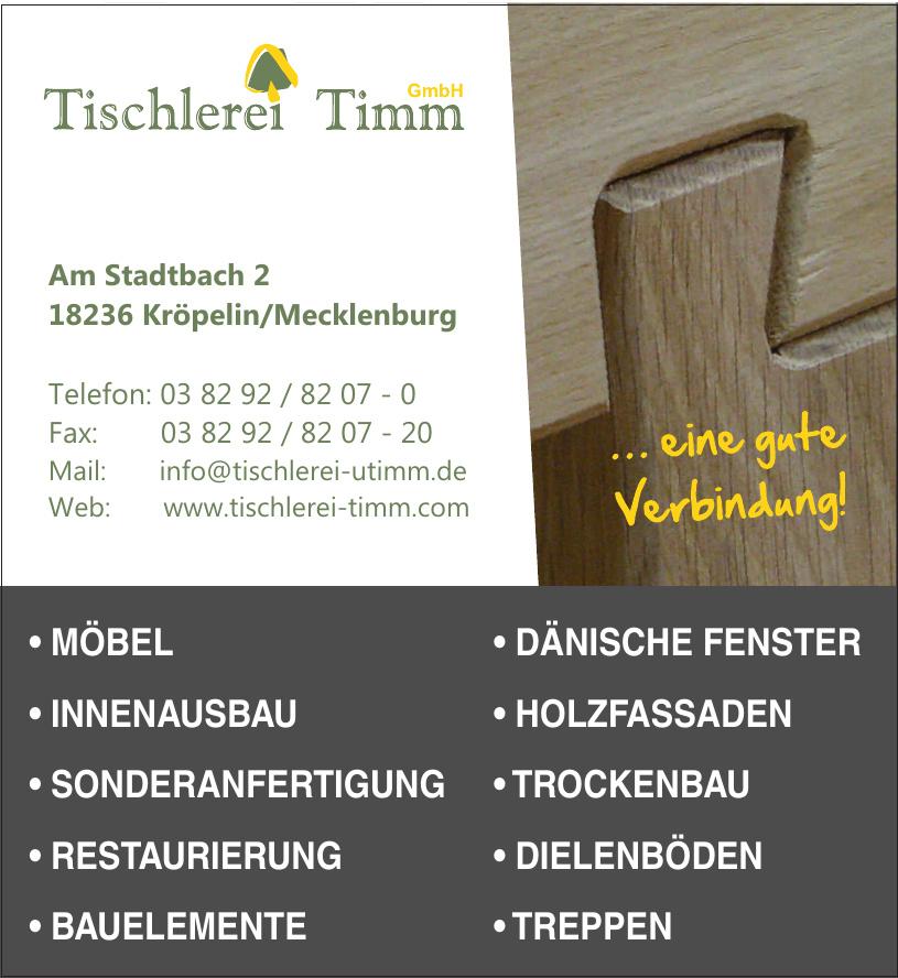 Tischlerei Timm GmbH