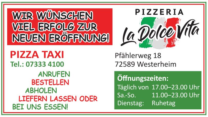 Pizzeria La Dolce Vita