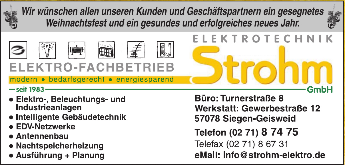 Elektrotechnik Strohm GmbH