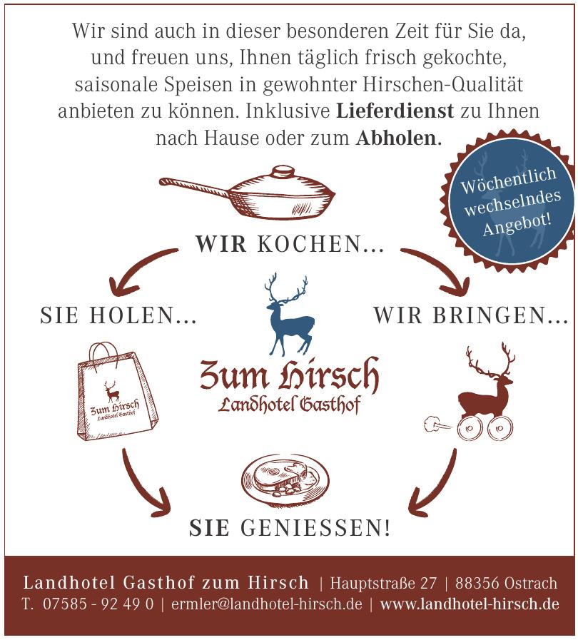 Zum Hirsch Landhotel Gasthof