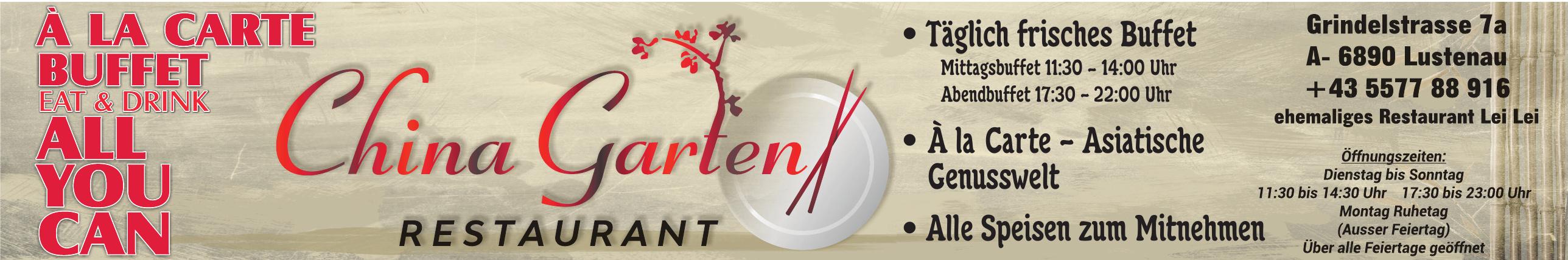China Garten Restaurant