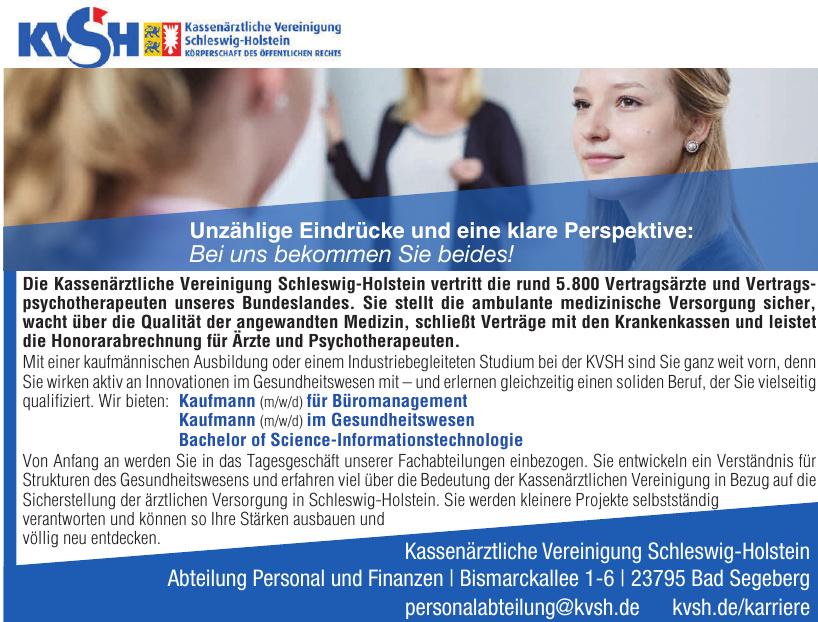 KVSH Kassenärztliche Vereinigung Schleswig-Holstein