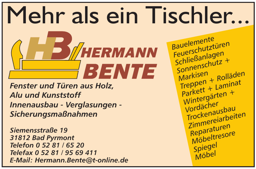 HB Hermann Bente