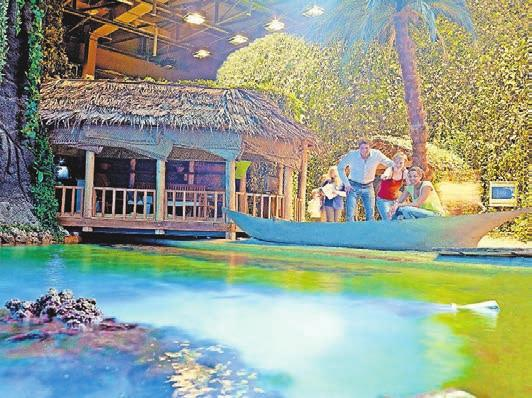 Die Lagune im Klimahaus. Foto: Meyer/Klimahaus Bremerhaven