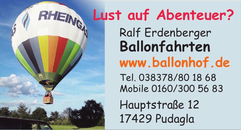 Ralf Erdenberger Ballonfahrten