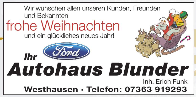 Autohaus Blunder