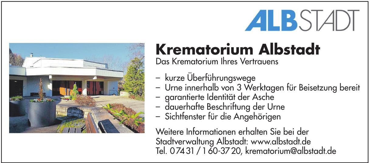 Krematorium Albstadt