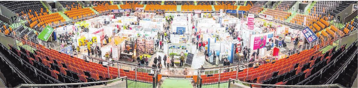 Über 110 Aussteller informieren kompetent und themenaktuell. Foto: Messe AG