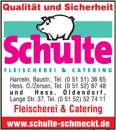Schulte Fleischerei & Catering