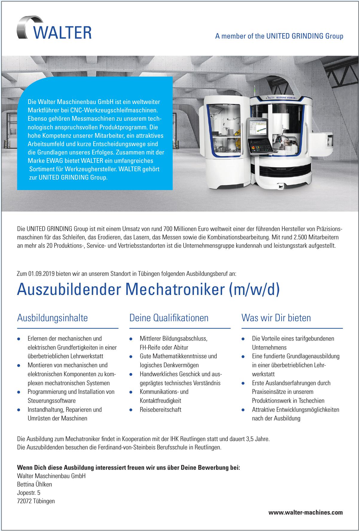 Walter Maschinenbau GmbH