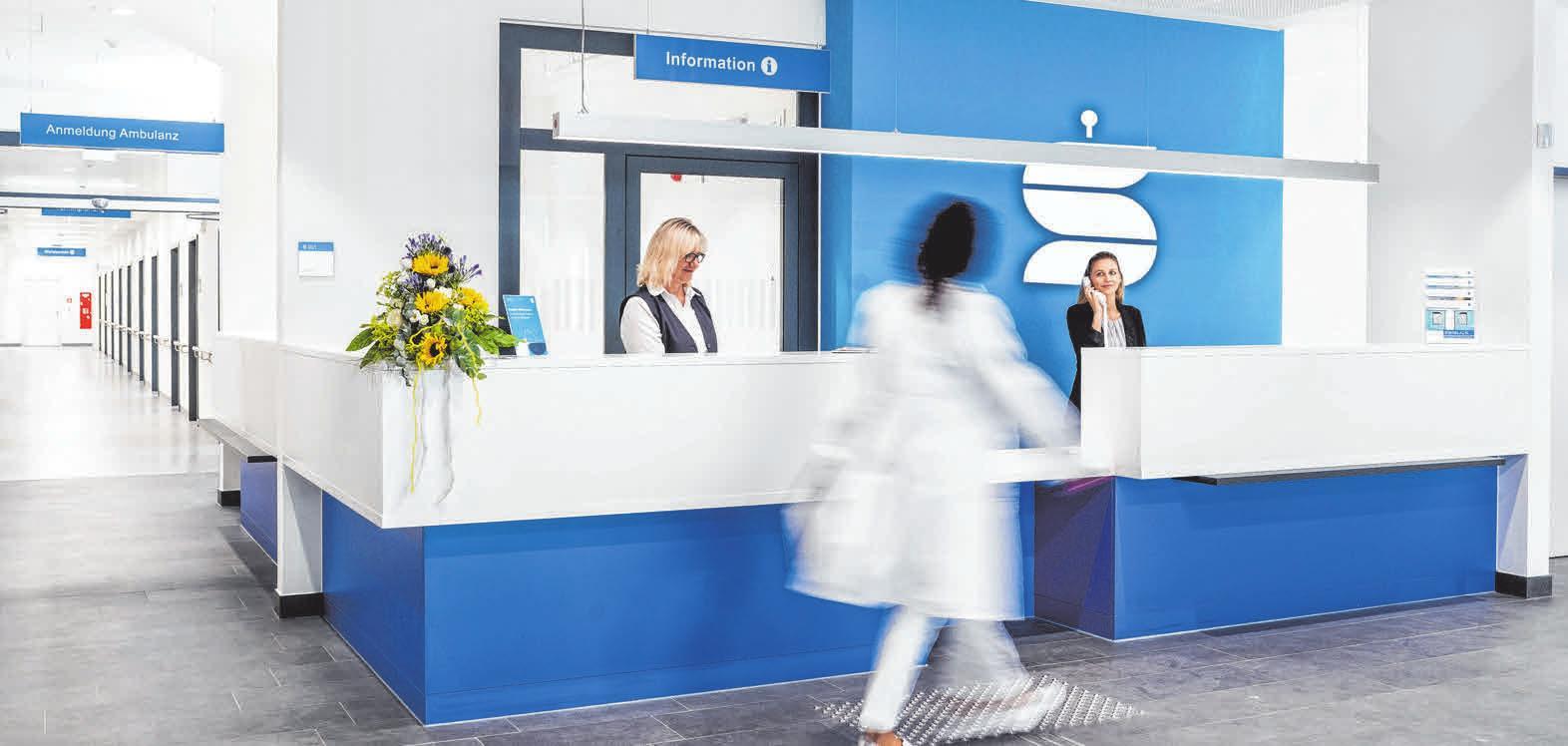 Der Gesundheitscampus mit dem neuen Sana Klinikum steht für eine gut abgestimmte, ganzheitliche stationäre und ambulante medizinische Versorgung.