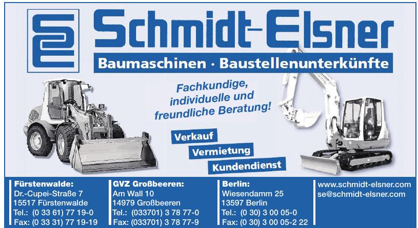Schmidt-Elsner GmbH
