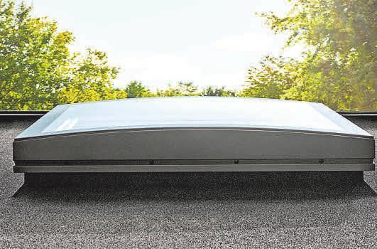 Fenster für Flachdächer gibt es in vielen Formen und Ausführungen.