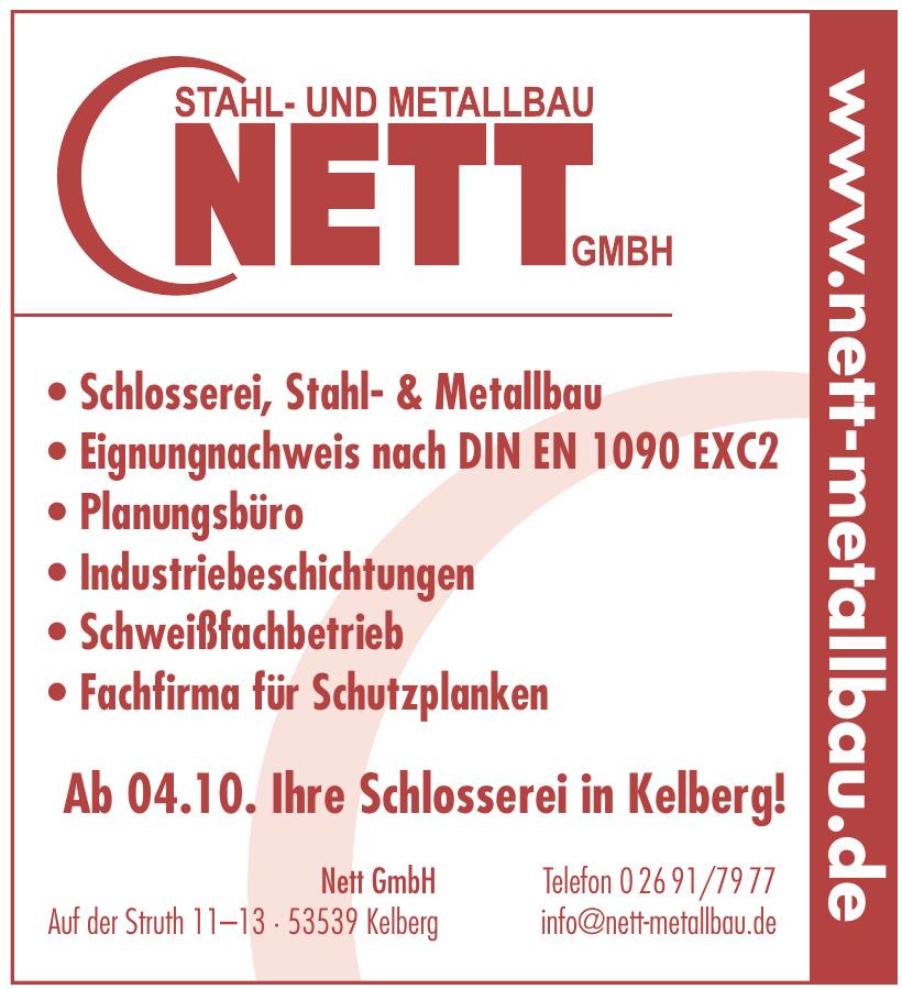 Stahl- und Metallbau Nett GmbH