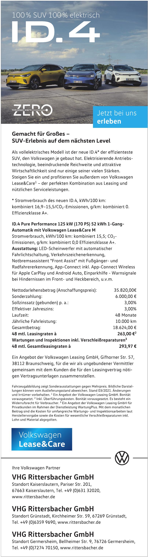 VHG Rittersbacher GmbH Kaiserslautern
