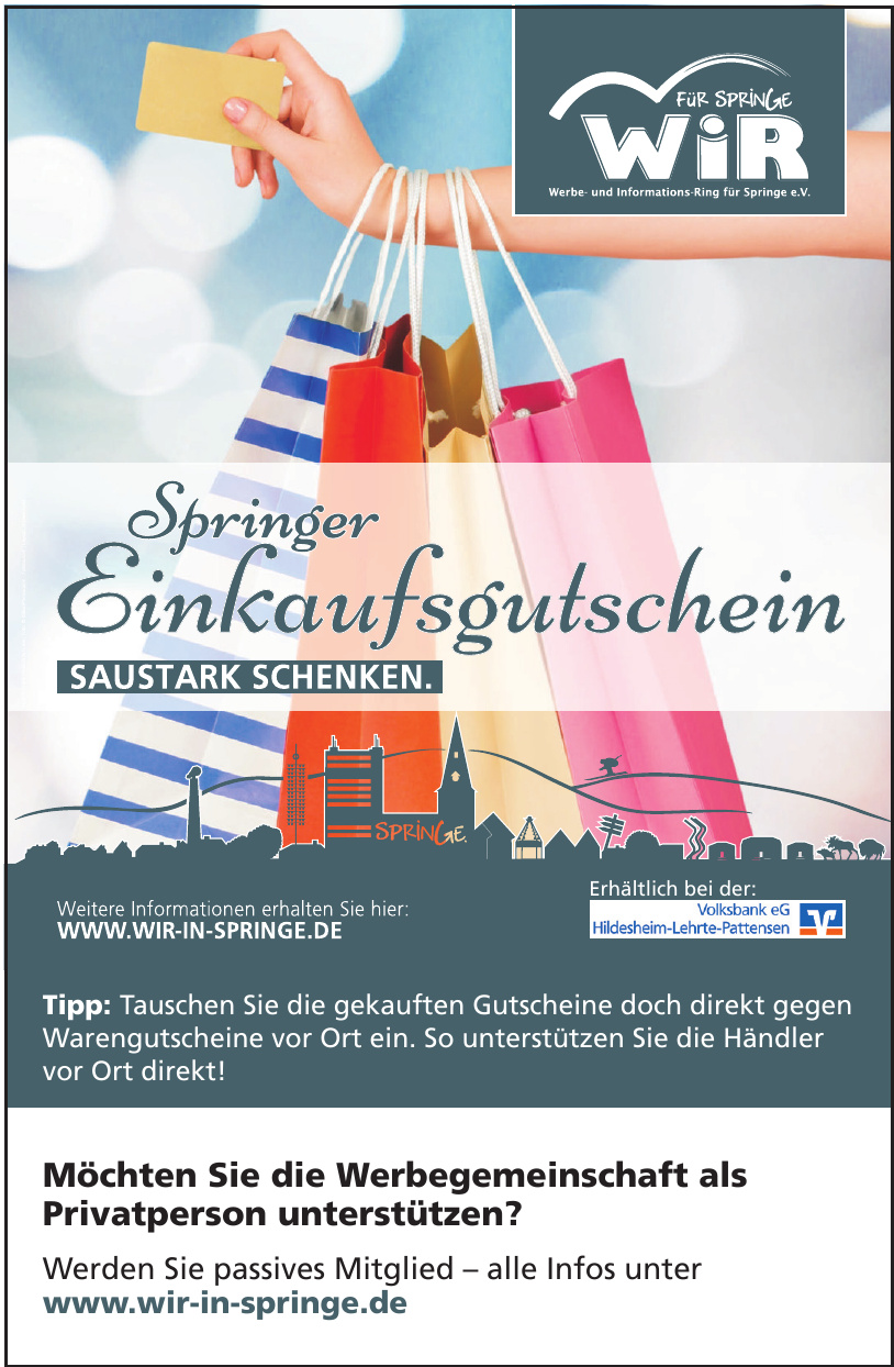 Werbe- und Informationsring für Springe e.V.