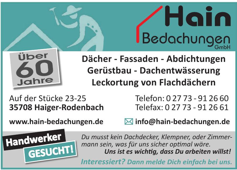 Hain Bedachungen GmbH