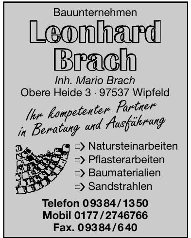 Bauunternehmen Leonard Brach