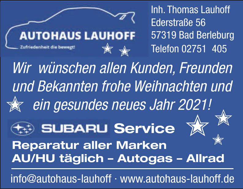 Autohaus Lauhoff