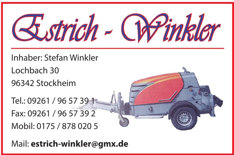 Estrich-Winkler