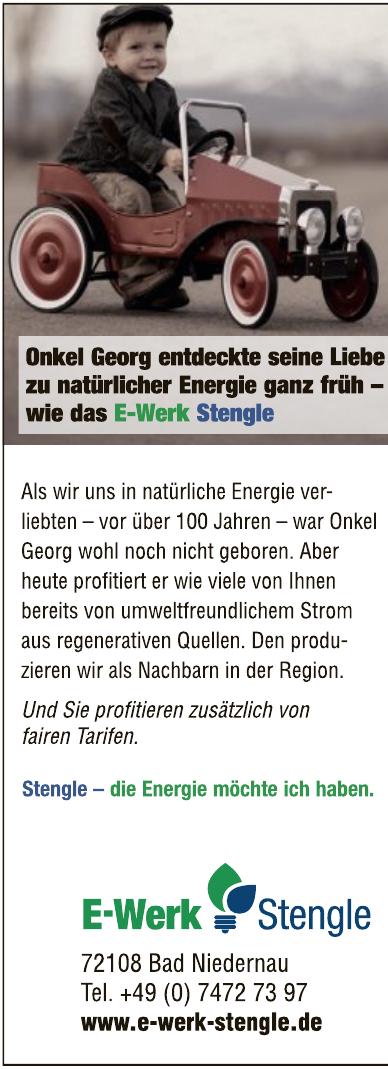 E-Werk Stengle