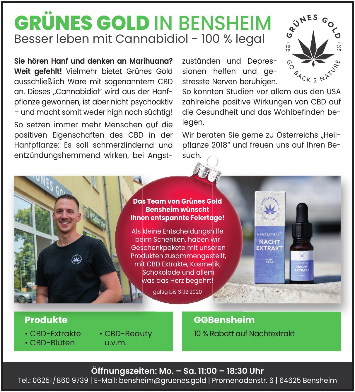 Grünes Gold Bensheim