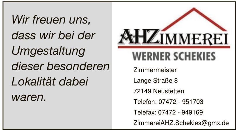 AHZimmerei