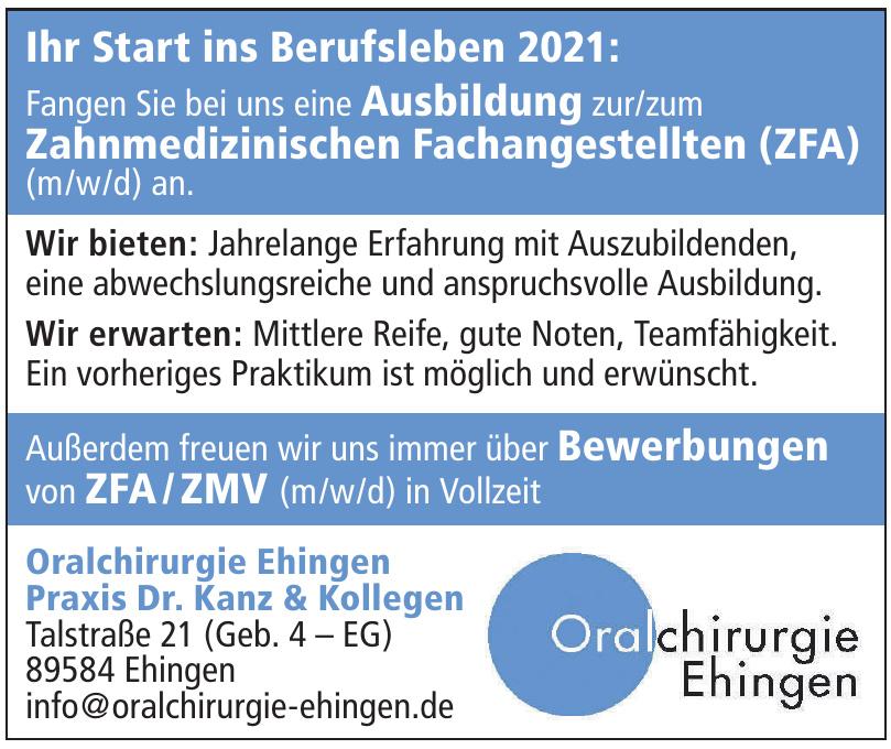 Oralchirurgie Ehingen - Praxis Dr. Kanz & Kollegen