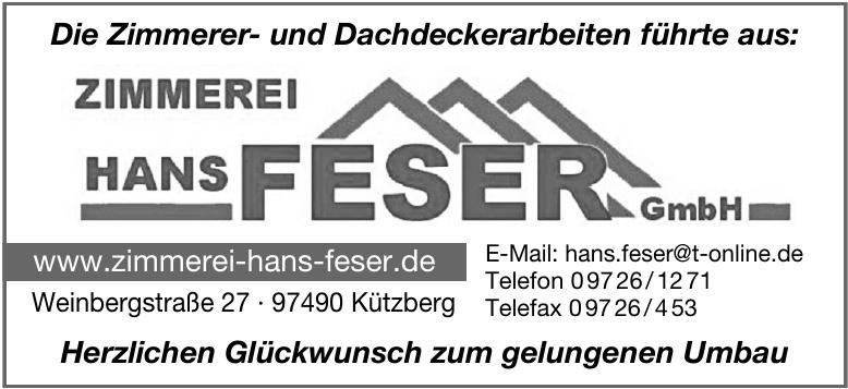 Zimmerei Hans Feser GmbH