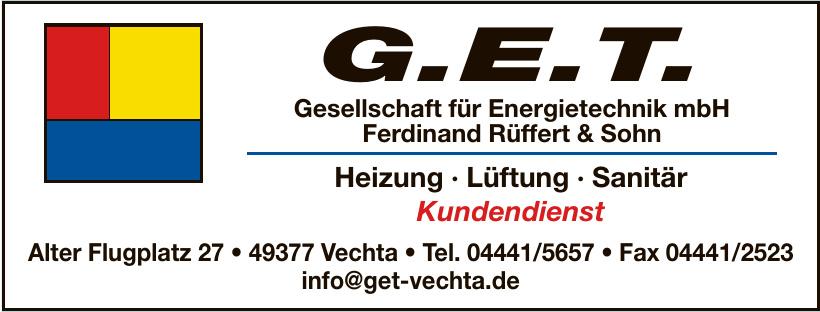 G.E.T. Ferdinand Rüffert & Song