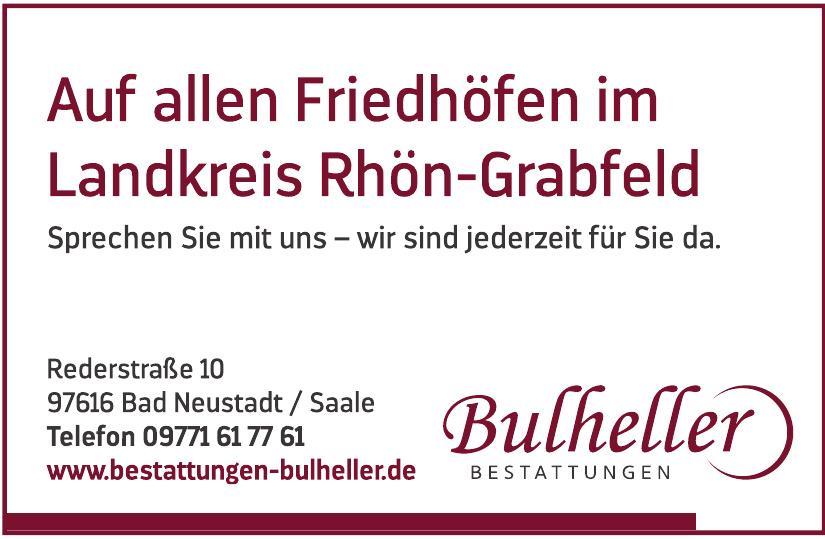 Bestattungen Bulheller