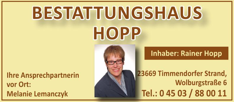 Bestattungshaus Hopp