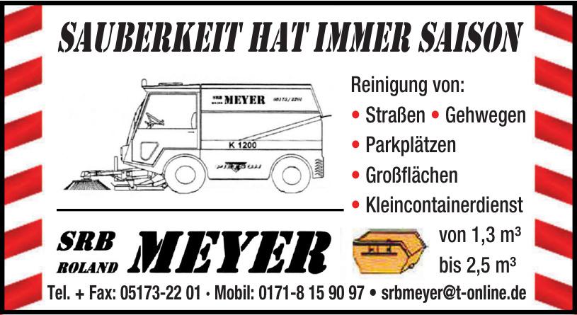 SRB Meyer Reinigung