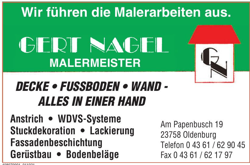 Gert Nagel Malermeister