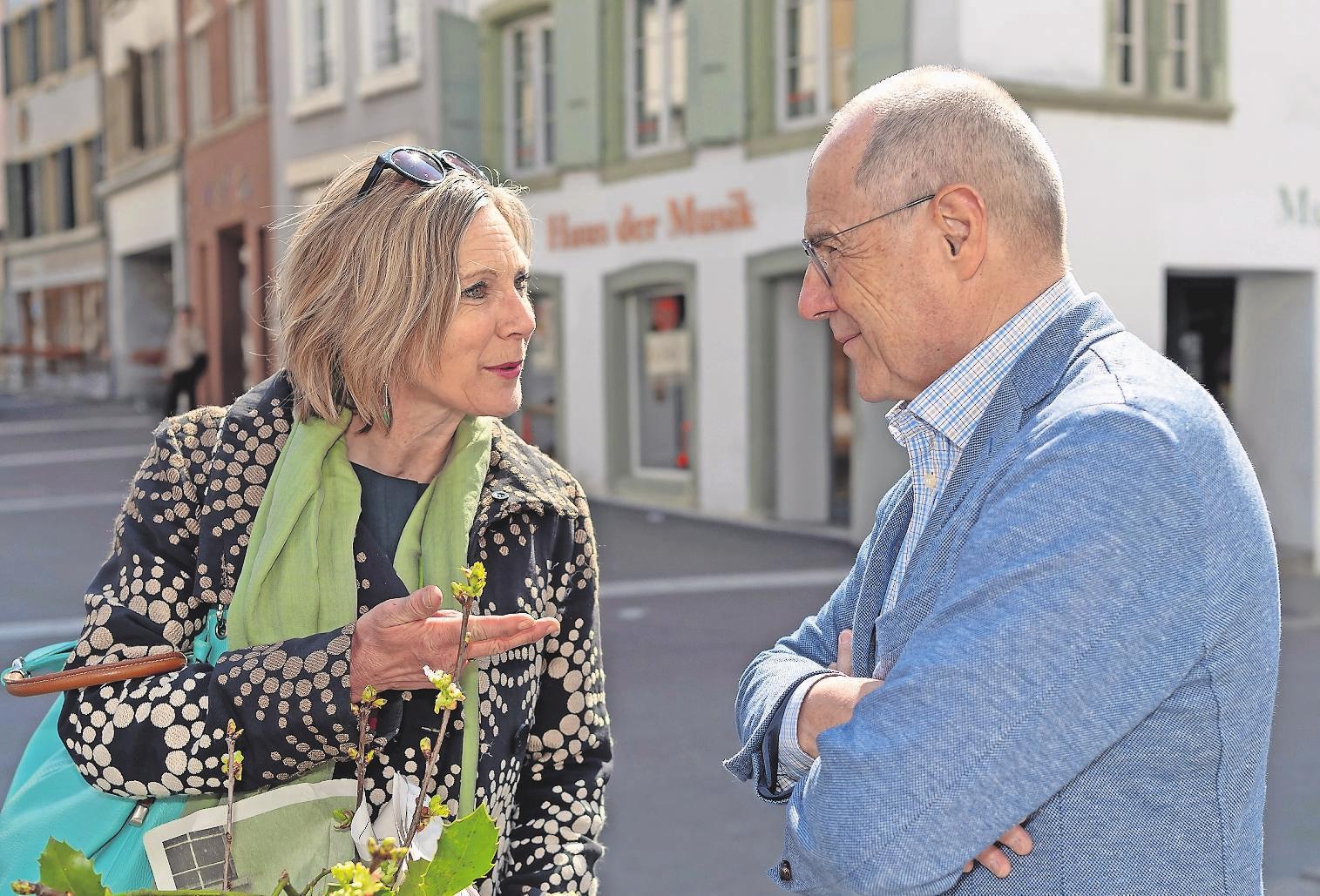 Grünen-Nationalrätin Maya Graf ist beim Rennen um die Nachfolge von Claude Janiak (SP) leicht zu favorisieren. Bild: Keystone (Liestal, 31. März 2019