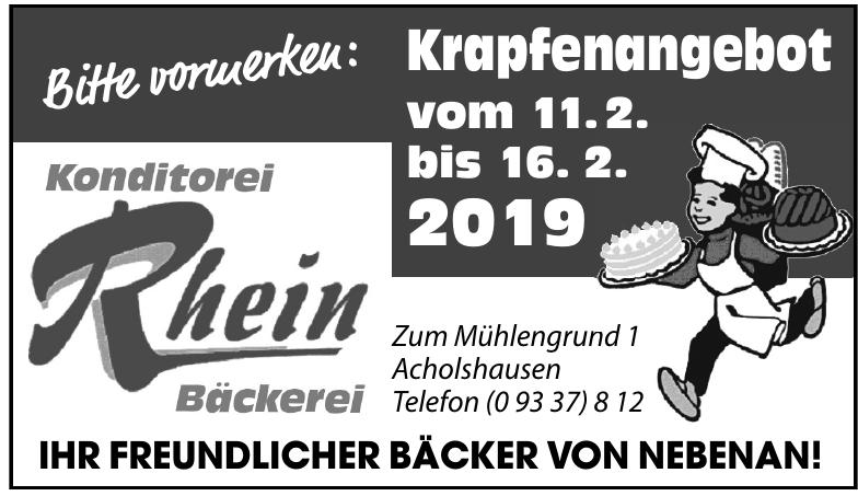 Bäckerei Rhein