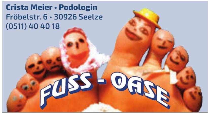 Fuss-Oase Crista Meier-Podologin