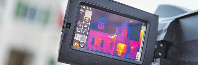 Ein kalter Wintermorgen ist ideal für Aufnahmen mit einer Wärmebildkamera. Foto: Tobias Hase/dpa