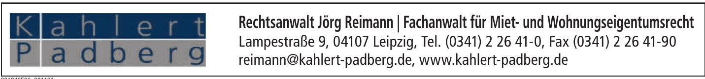 Rechtsanwalt Jörg Reimann