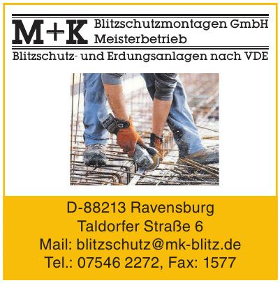 M+K Meisterbetrieb + Blitzschutzmontagen GmbH