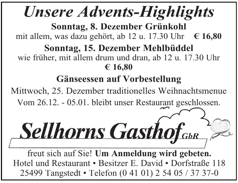 Sellhorns Gasthoff GbR