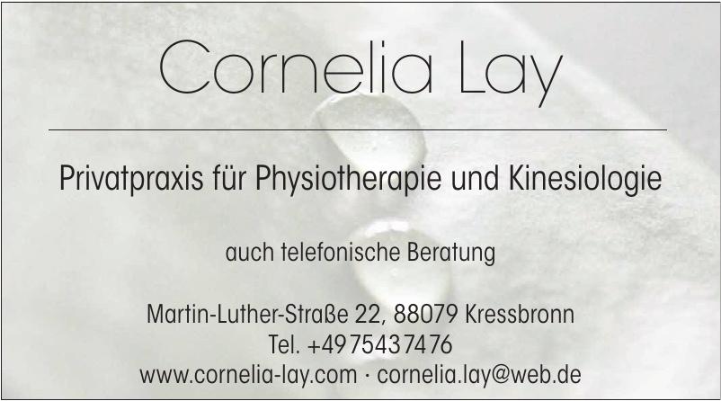 Cornelia Lay Privatpraxis für Physiotherapie und Kinesiologie
