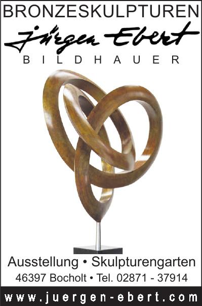 Bildhauer Jürgen Ebert