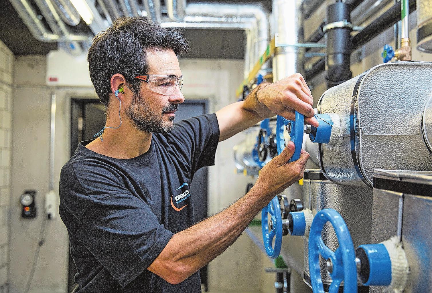 Rund 150 Mitarbeitende aus allen Bereichen der Gebäudetechnik arbeiten bei Bouygues Energies & Services InTec Schweiz AG in Olten. Bild: zvg