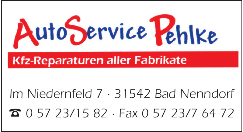 Autos Service Pehlke