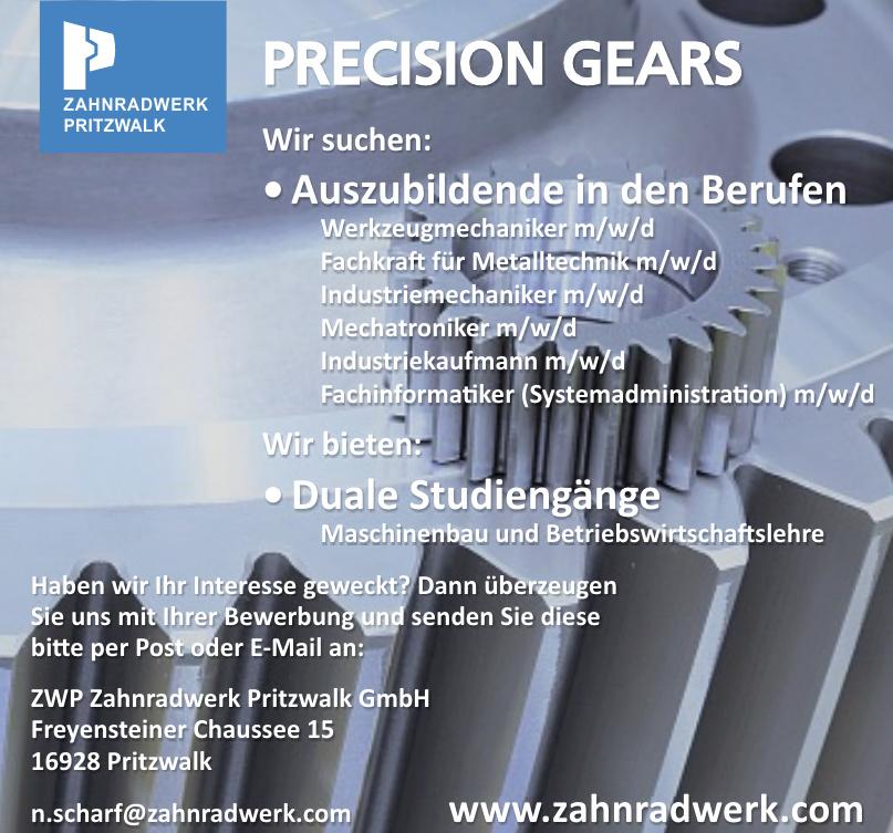 ZWP Zahnradwerk Pritzwalk GmbH