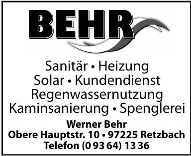 Werner Behr